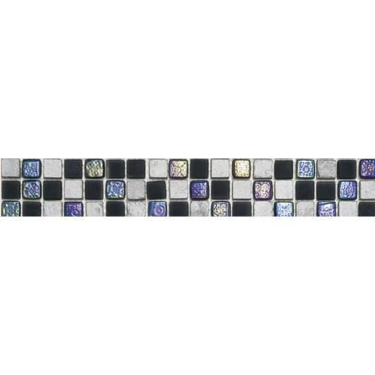 CARRELAGE - PAREMENT Listel en pate de verre et carrelage  Mars - 5 x 3