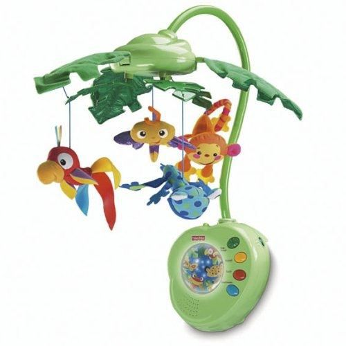 Fisher price k3799 pu riculture chambre d achat vente mobile fisher price k3799 for Chambre jungle cdiscount