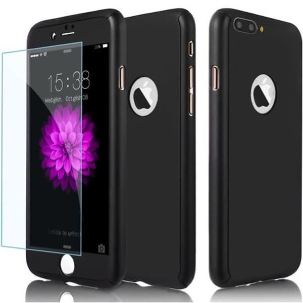 coque 360 iphone 7 plus noir