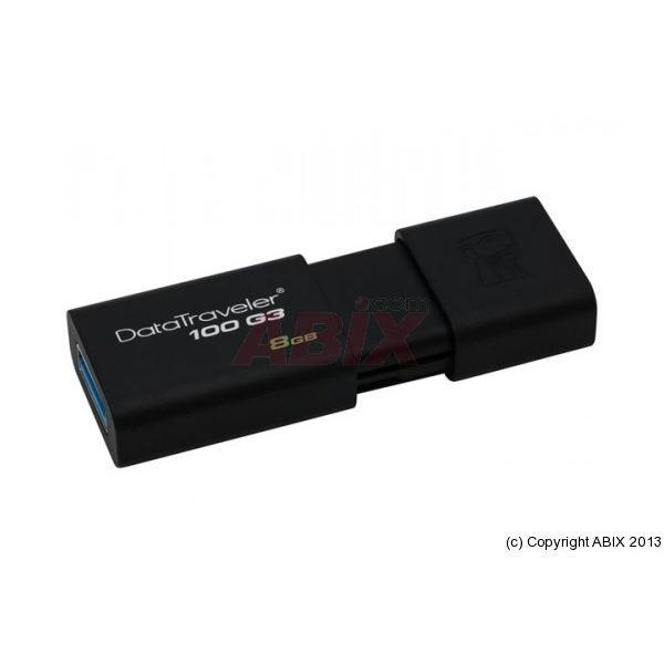 CLÉ USB CLE USB 3.0 KINGSTON DataTraveler 100 G3 - 8Go