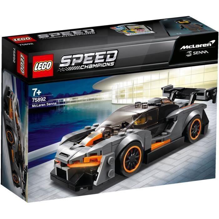 ASSEMBLAGE CONSTRUCTION LEGO® Speed Champions 75892 Mclaren Senna
