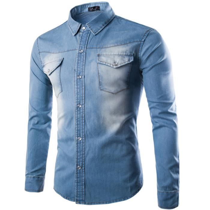Fabuleux Chemise homme - Achat / Vente Chemise Homme pas cher - Cdiscount BW83