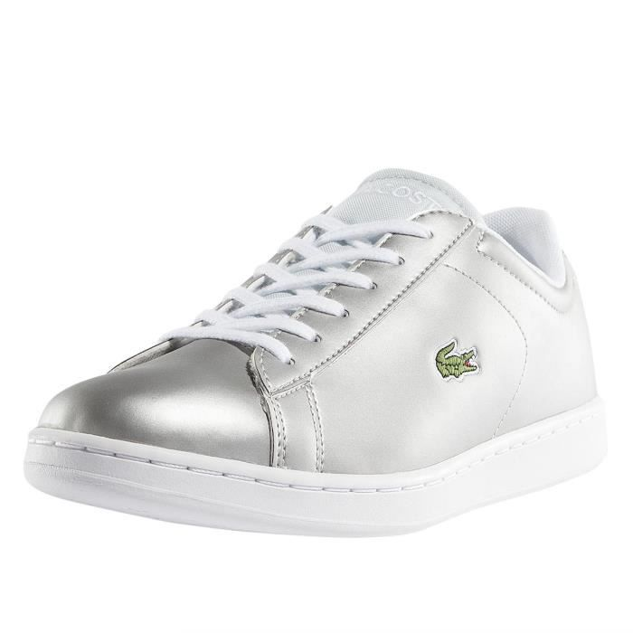 68b01425d Lacoste Femme Chaussures / Baskets Carnaby EVO 317 SPJ LT Gris ...