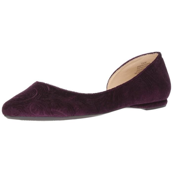 Femmes Nine West Chaussures Plates eIRcRgT1i