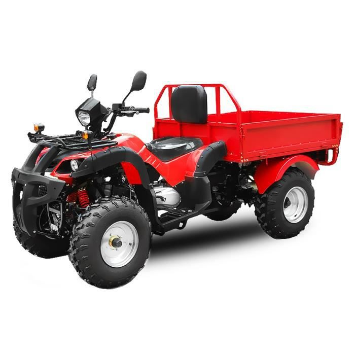 quad atv dumper 200cc rg cvt remorque integr e achat. Black Bedroom Furniture Sets. Home Design Ideas
