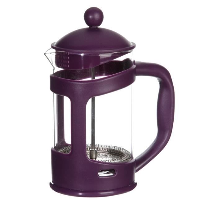Paris prix cafeti re piston 800ml violet achat - Cafetiere a piston avis ...