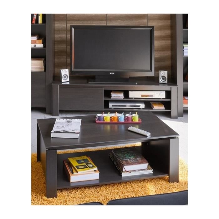 ensemble meuble tv bas et table basse pour salon design. Black Bedroom Furniture Sets. Home Design Ideas