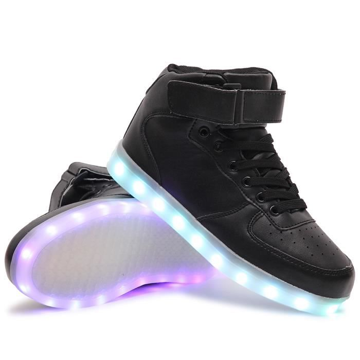 Chaussures LED Enfant Lumineuse USB Charge Chau... odnUEVCv1