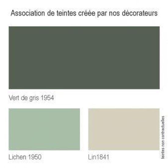 Peinture Murale Monocouche Vert De Gris 1954 0 5 Litre