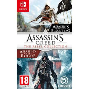 SORTIE JEU NINTENDO SWITCH Assassin's Creed : The Rebel Collection Jeux Switc