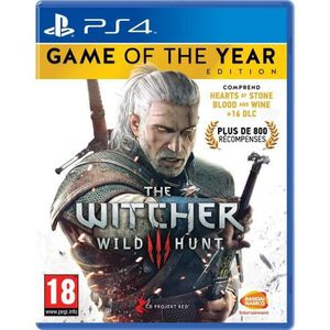 JEU PS4 The Witcher 3 : Wild Hunt Goty Edition Jeu PS4