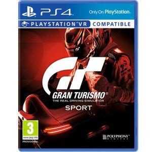JEU PS4 Gran Turismo Sport Jeu PS4/PSVR