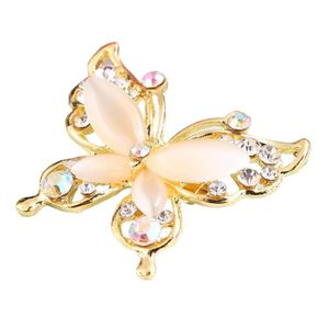 Fashion broches lettre 5 Full cristal strass Broche Broches Pour Femmes Fête