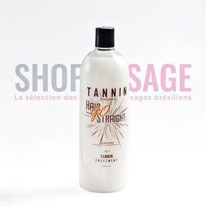 DÉFRISAGE - LISSAGE HAIR GO STRAIGHT Lissage brésilien Tannin - 1 L