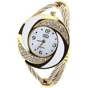 MONTRE Montre Femme Le nouveau bracelet de diamants tress