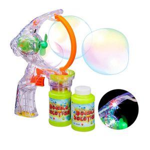 BULLES DE SAVON Relaxdays Pistolet à bulles enfant machine à bulle