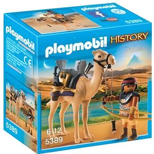 UNIVERS MINIATURE PLAYMOBIL 5389 - History - Combattant Egyptien ave