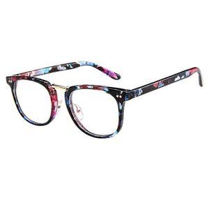 LUNETTES DE VUE HT Monture de lunettes rétro Ronde Monture verre c
