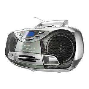 RADIO CD CASSETTE Karcher RR 510N Portable Radio CD Stéréo (Lecteur