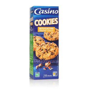 COOKIES CASINO Cookies Pépites de Chocolat et Nougatine 20