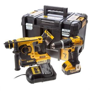PACK DE MACHINES OUTIL DEWALT Perforateur burineur SDS plus DCK206M2T - P
