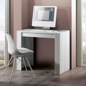 CONSOLE EXTENSIBLE Console extensible GOOMY - Style contemporain - Bl