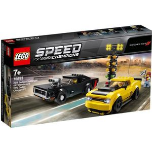 ASSEMBLAGE CONSTRUCTION LEGO® Speed Champions 75893 Dodge Challenger Srt d