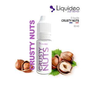 LIQUIDE E-LIQUIDE SAVEUR CRUSTY NUTS - NOISETTES 10ML EN 6