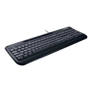 CLAVIER D'ORDINATEUR Microsoft Wired Desktop 600 for Business - Ensembl