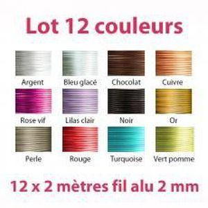 Fil Aluminium Multicolore Facile /à Fa/çonner Fil de fer pour Bijoux Tyelany Fil Daluminium 2mm Avec 1 Pince Coupante 5 Rouleaux, 5m chaque Rouleau pour Fabrication de Bijoux et Divers M/étiers