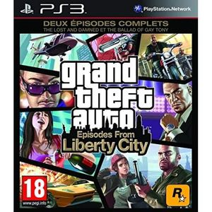 JEU PS4 GTA : episodes from Liberty City [PlayStation 3]