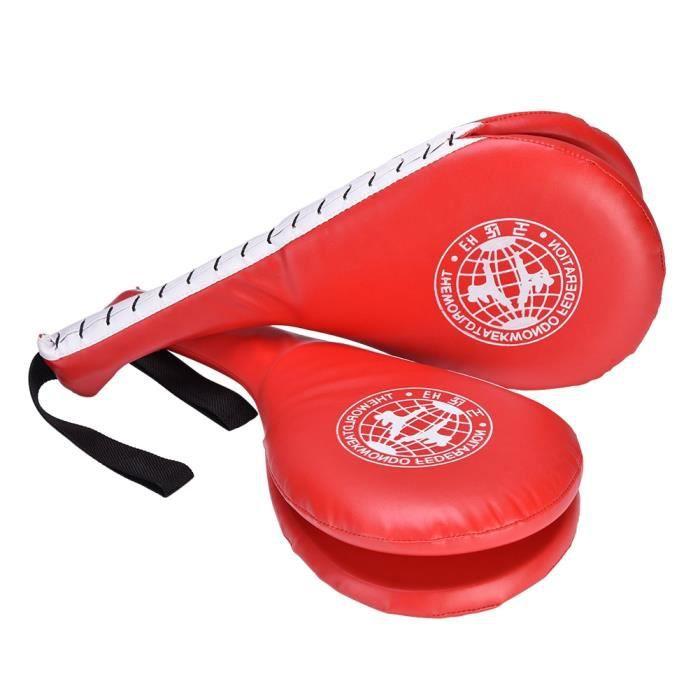 1pcs taekwondo durable Kick PAD cible Tae Kwon Do Karaté kickboxing Rouge