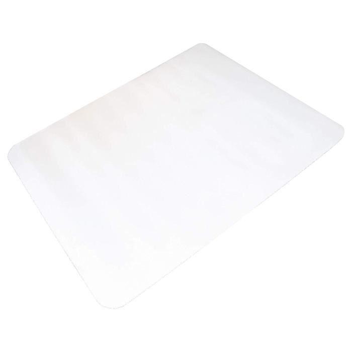 Tapis Protège-Sol 120 x 120 cm - Tapis de Chaise Transparent Protection pour Sol en Bois, Stratifié et en PVC
