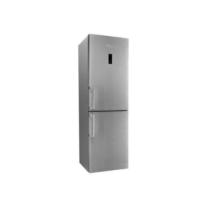 HOTPOINT XH8T2OXZH/1 - Réfrigérateur combiné - 338 L (234+104) - Total NoFrost - A++ - L60 x H189 cm - Inox