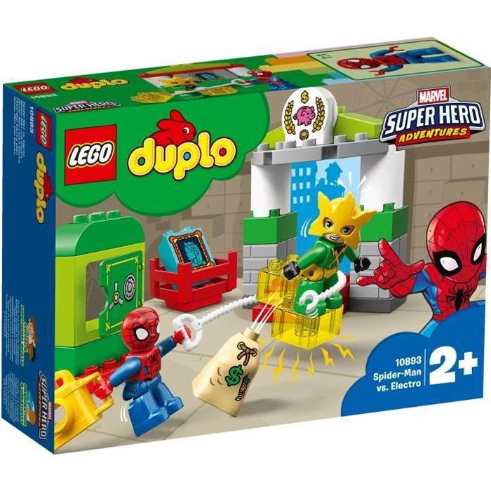 LEGO® DUPLO® Marvel Super Heroes 10893 Spider-Man vs. Electro - Jeu de construction