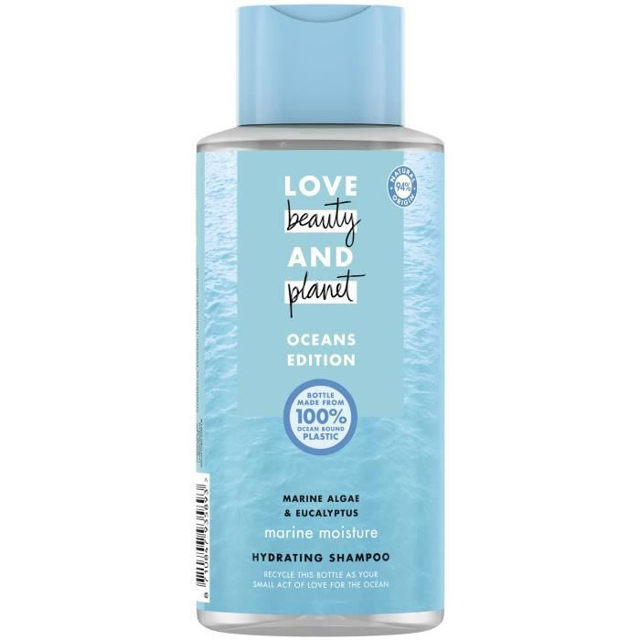LOVE BEAUTY AND PLANET Shampoing Vague d'Hydratation - 400 ml