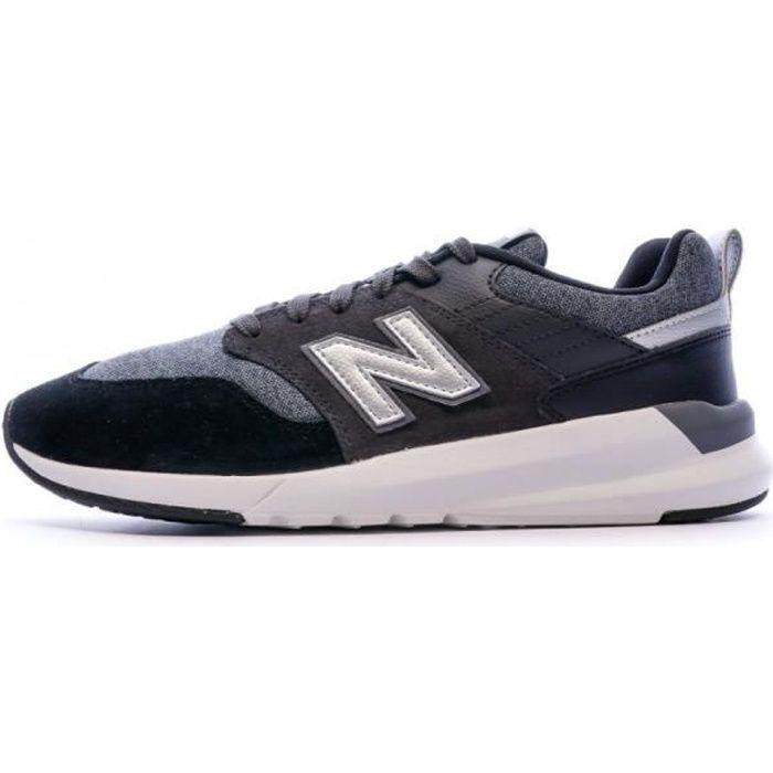 Baskets gris/noir homme New Balance MS009 D