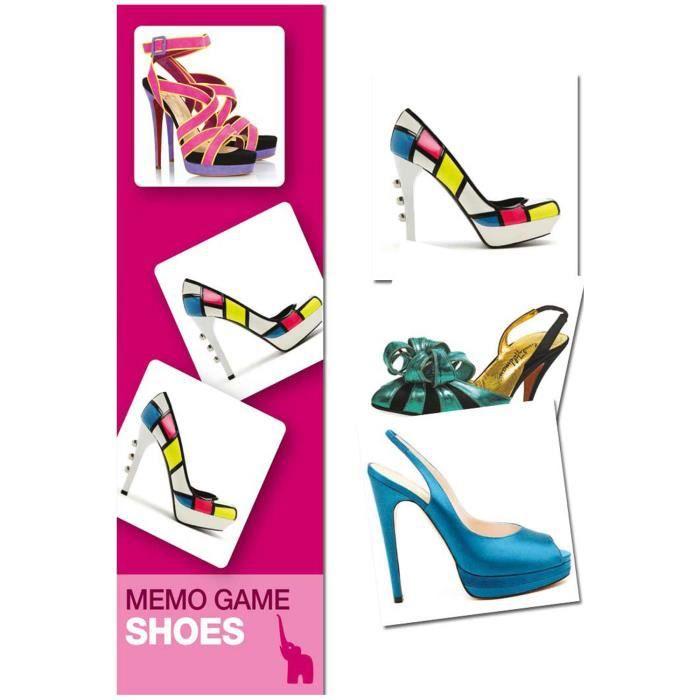 Jeu de mémoire : Shoes
