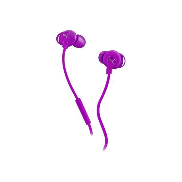 PUMA-WHEAT Bulldogs Casque intra-auriculaire filaire violet