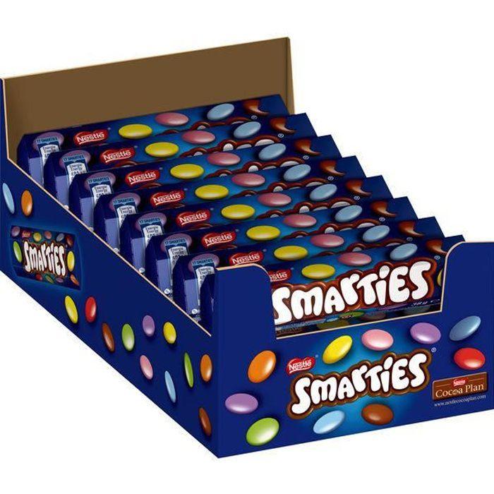 Nestlé Smarties Hexagon 38g (Pack de 24)