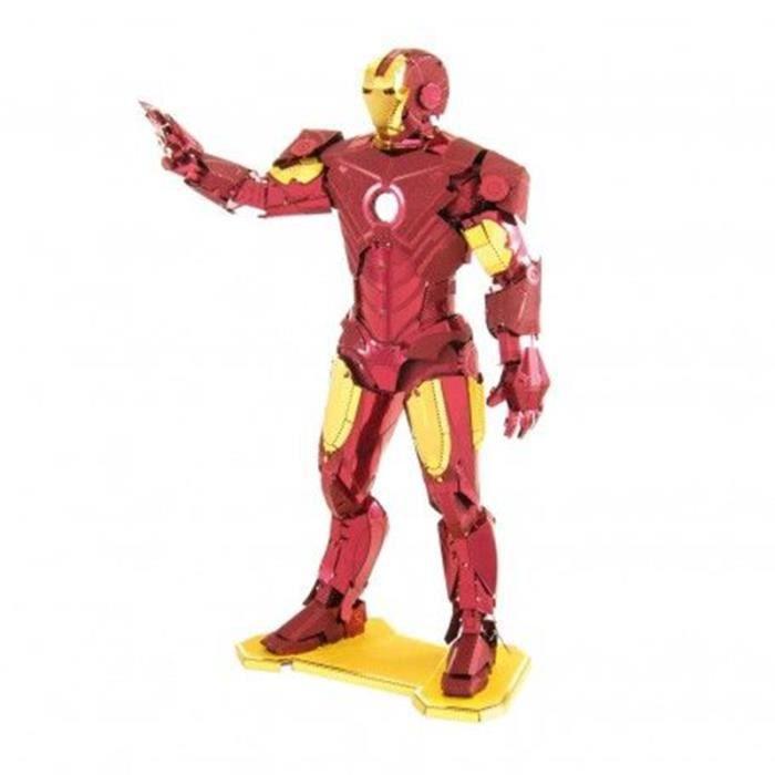 Maquette Métal 3D Iron Man Avengers