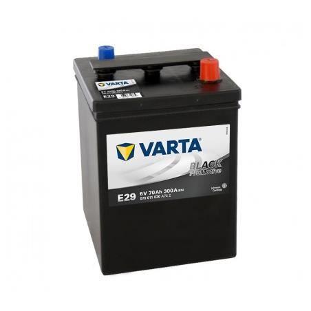 Batterie VARTA Promotive Black Dynamic 6V 70Ah / 300A (E29)