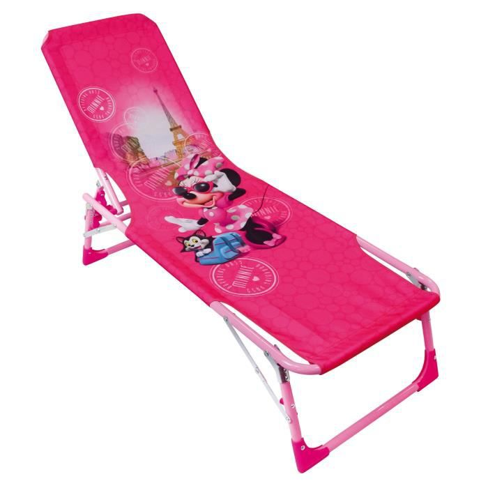 Fun House Disney Minnie bain de soleil - transat pour enfant