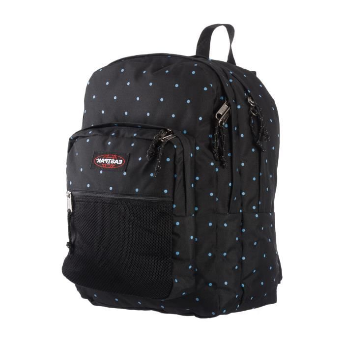 sac dos eastpak pinnacle ek060 38k dot black noir dot black achat vente sac dos. Black Bedroom Furniture Sets. Home Design Ideas