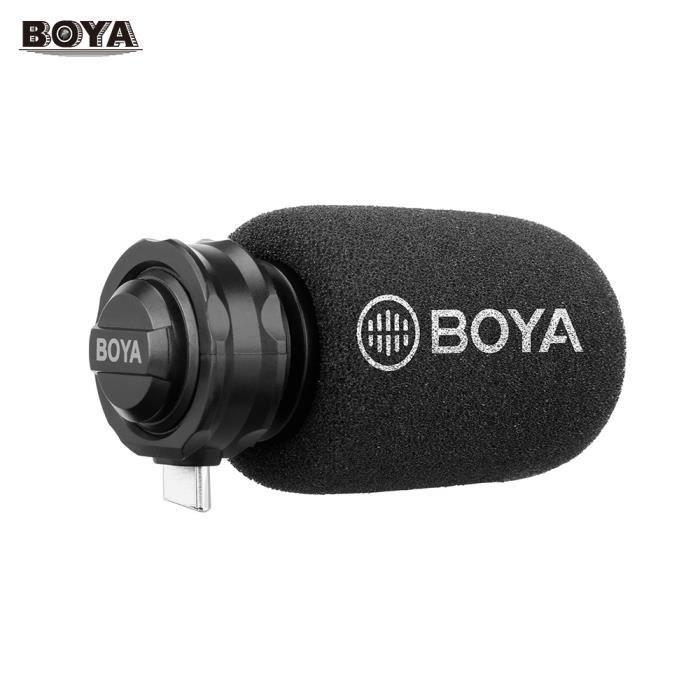 MICROPHONE EXTERNE BOYA BY-DM100 Microphone numérique à condensateur