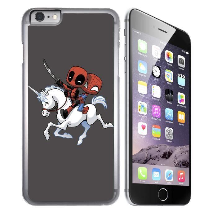 coque iphone 7 spiderman lumineuse