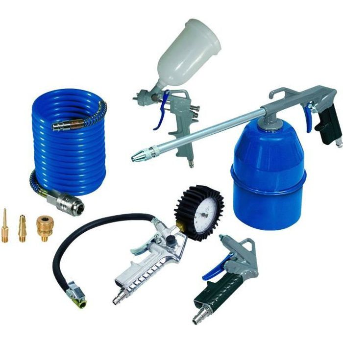 michelin kit de 8 accessoires pour tout compresseur sur. Black Bedroom Furniture Sets. Home Design Ideas