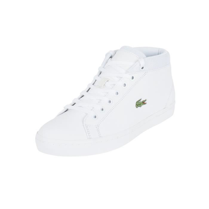 1f07a6c485 Lacoste Homme Straightset Chukka 316 3 SPM formateurs, Blanc Blanc ...