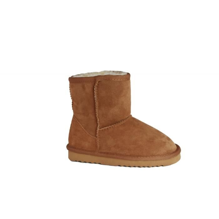 Eastern Counties Leather - Bottes Charlie en peau de mouton - Enfant