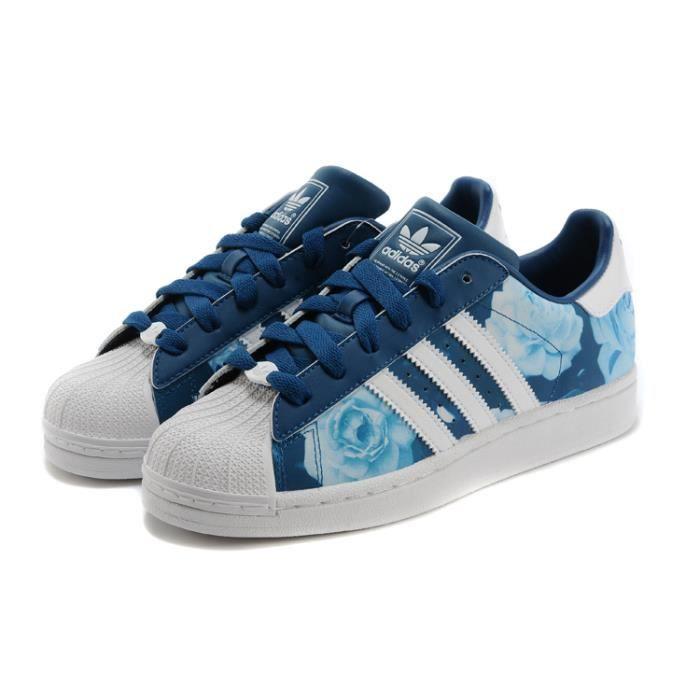 Adidas Superstar Bleu - Cdiscount Chaussures